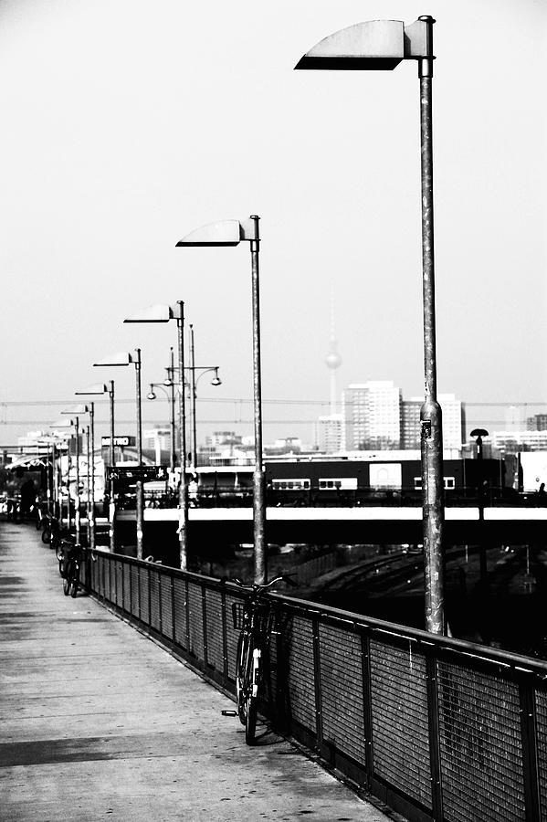 Railway Photograph - S-bahn To Berlin by Falko Follert