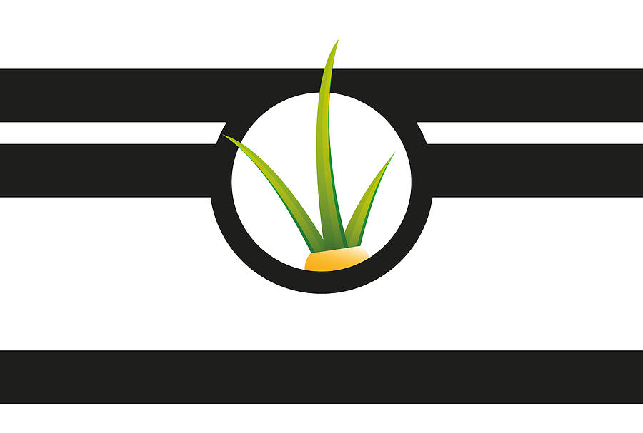 Stripes Digital Art - S-tribes-grass-middle by Chris Andreami