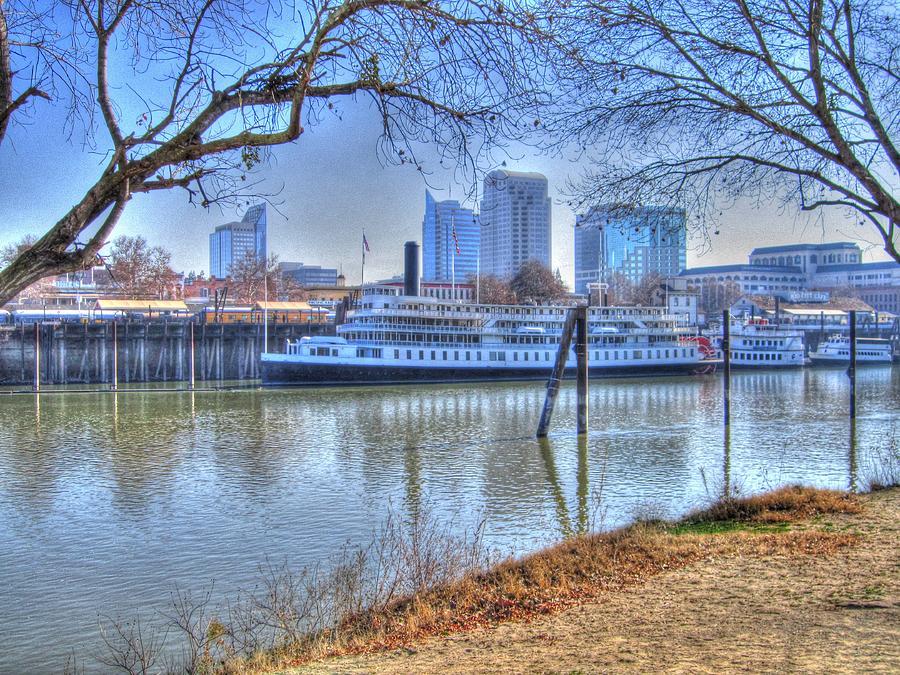 Sacramento River Photograph - Sacramento River by Barry Jones