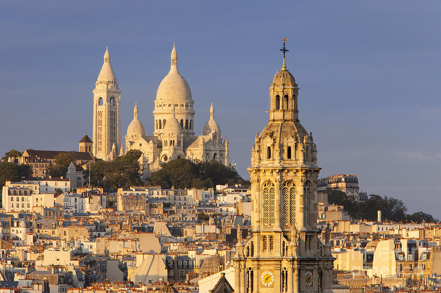 Architectural Photograph - Sacre Coeur by Brian Jannsen
