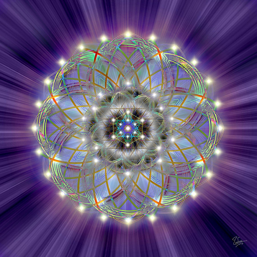 Sacred Geometry Combination 120 And 121 Digital Art By