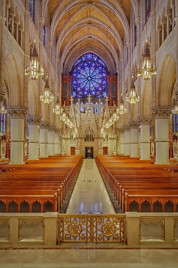 Sacred Heart Basilica Photograph - Sacred Heart Cathedral Basilica by Susan Candelario