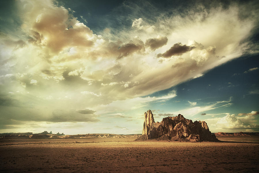 Sand Photograph - Sacred Land by Stuart Deacon