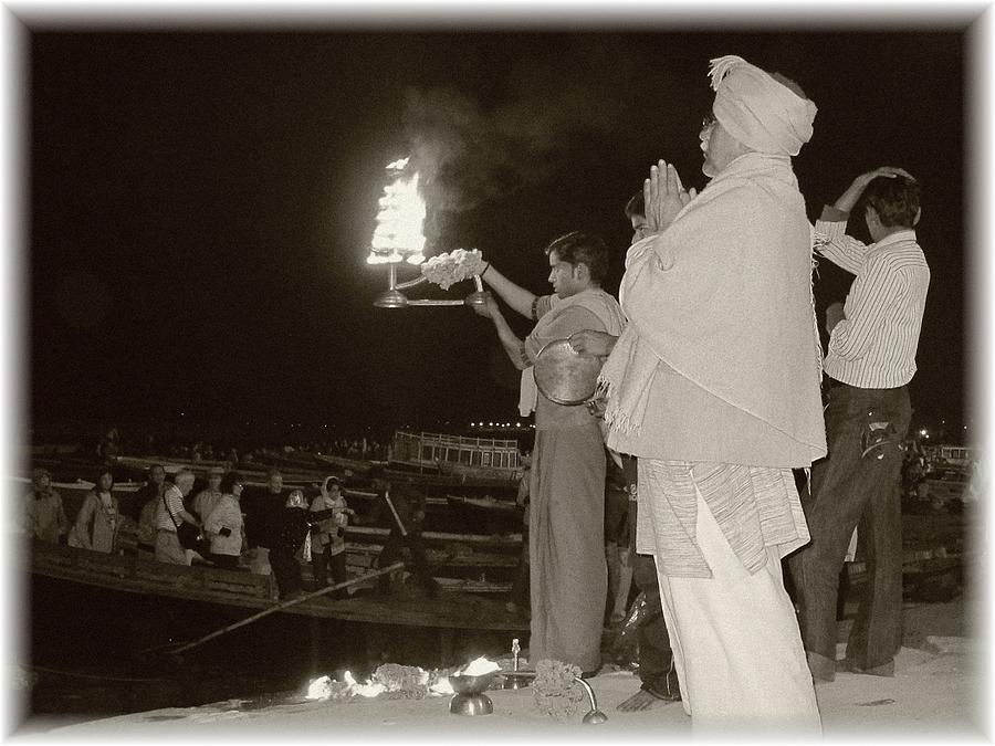 Black And White Photograph - Sacred Rites by Tia Anderson-Esguerra