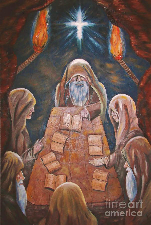 Sacred Tradition Painting - Sacred Tradition by Judy Via-Wolff