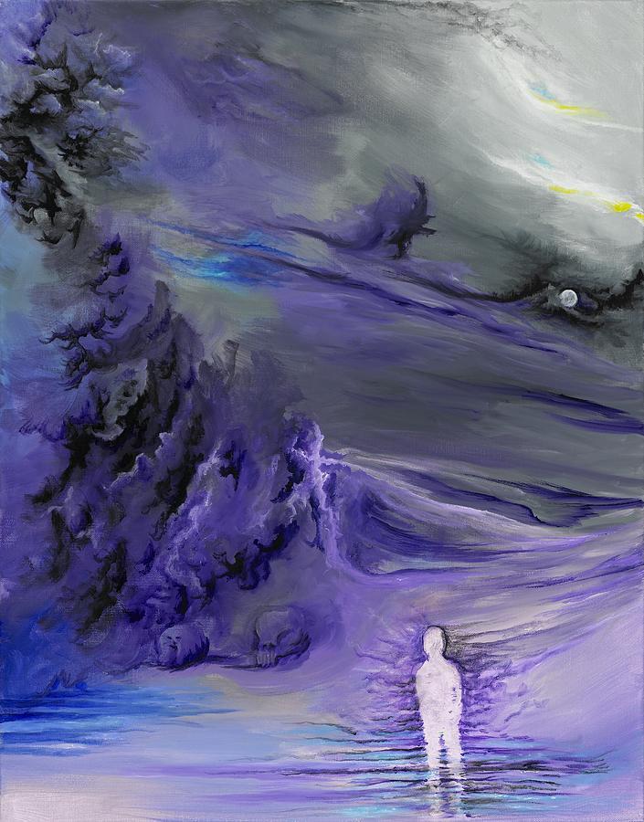 Sadness Painting By David Junod