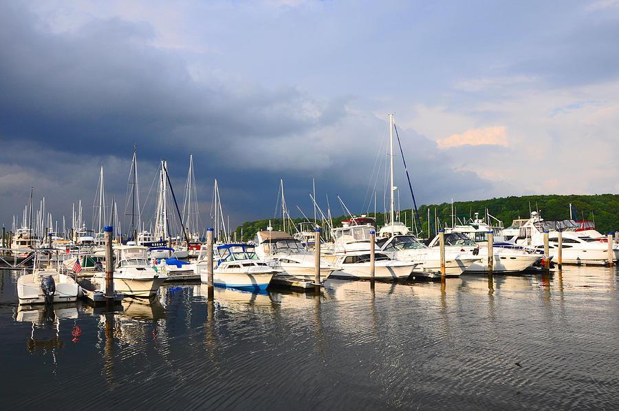 Harbor Photograph - Safe Harbor by Christine Stonebridge
