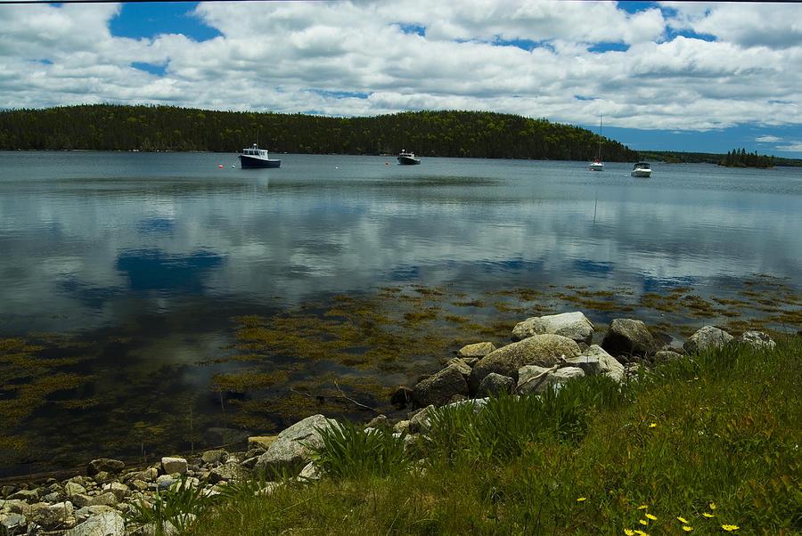 Atlantic Photograph - Safe Harbor by Cindy Rubin