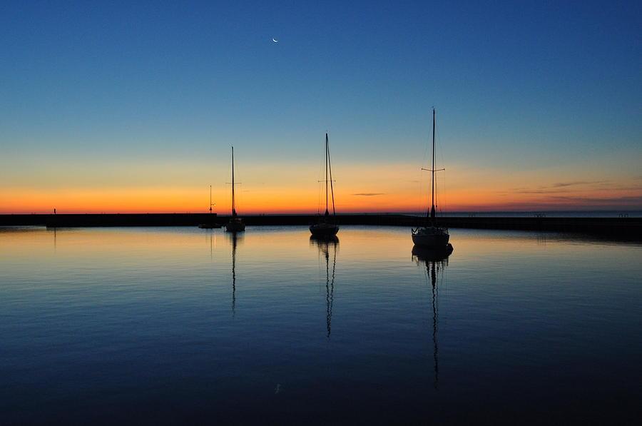 Sail Boats Photograph - Safe Harbor by Steve Goddard