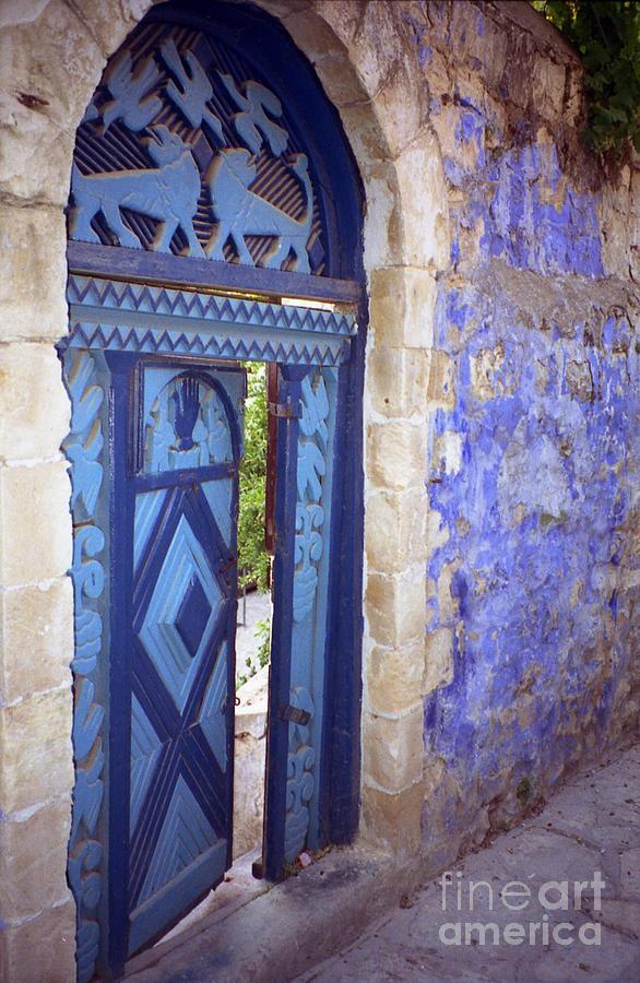 Closed Door Photograph - Safed Door by Arlene Carmel