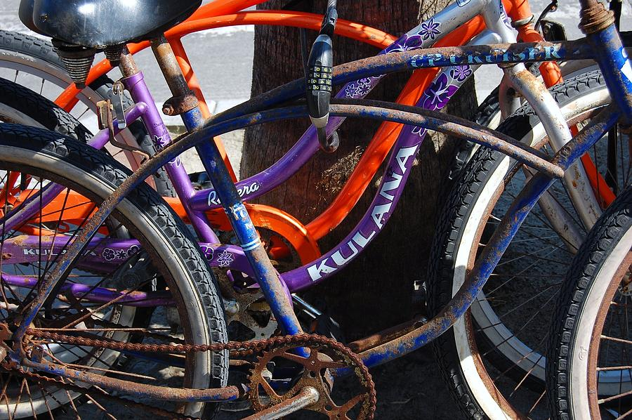 Bike Photograph - Saggy Chain by Jame Hayes