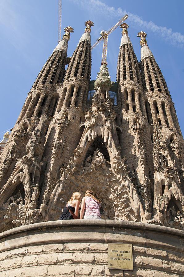 Sagrada Familia Photograph - Sagrada Familia Church - Barcelona Spain by Matthias Hauser