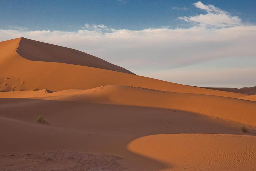 Sahara Photograph - Sahara Sanddunes by Leo Keijzer