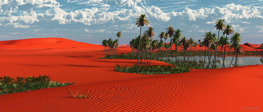 3d Painting - Sahara by Williem McWhorter