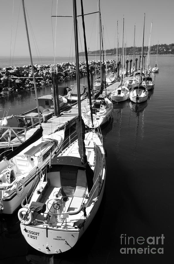 Sailboats Photograph - Sail Away by Malu Couttolenc