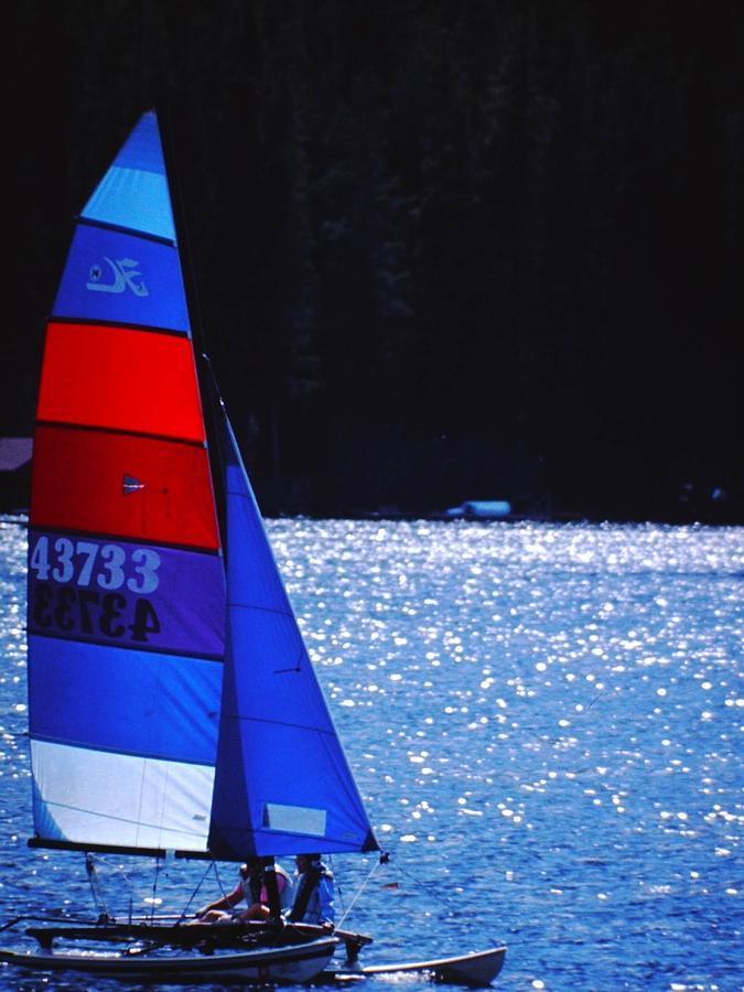 Sail Boat Photograph - Sail Away by Richard Stillwell