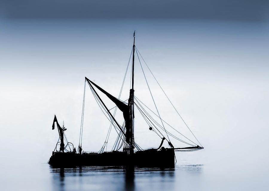 Boat Photograph - Sail  by Cliff Norton