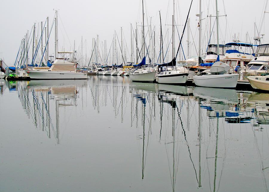 Sailboat Photograph - Sailboat Reflections by Gil Kanat