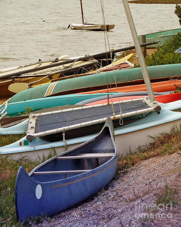 Sailboats Photograph - Sailboats by Methune Hively