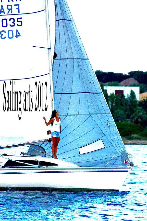 Sailing Photograph - Sailing Arts by Rogerio Mariani