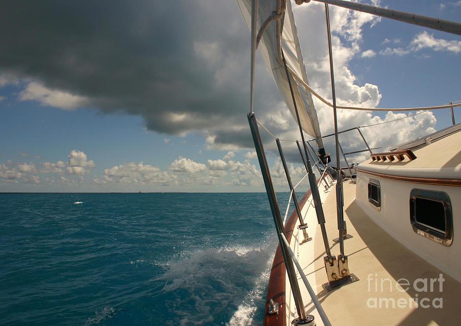 Active Photograph - Sailing in the tropics by Matt Tilghman