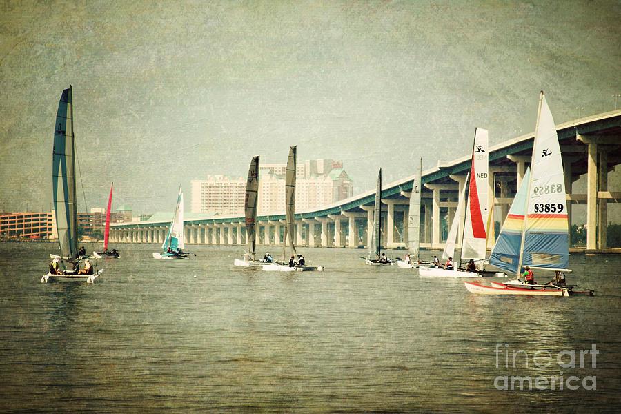 Sailboat Photograph - Sailing by Joan McCool