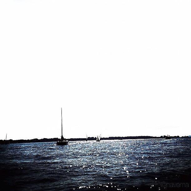 Ship Photograph - Sailing by Natasha Marco