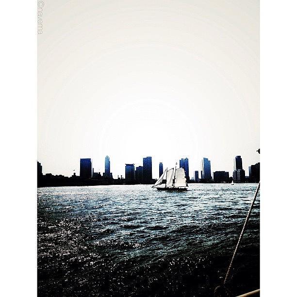 Beautiful Photograph - Sailing The Hudson by Natasha Marco