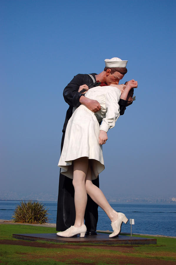 Sailor S Kiss Photograph By Holly Blunkall