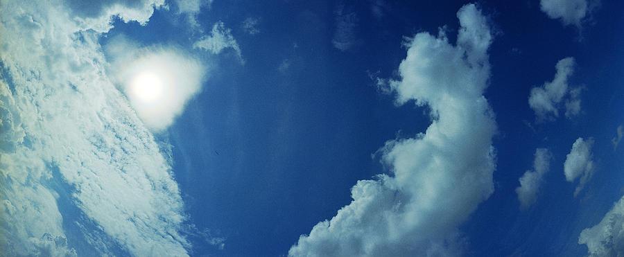 Raf Photograph - Sailplane Over Raf Tibenham by Jan W Faul