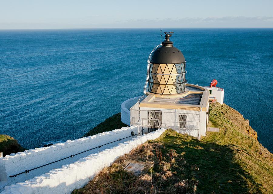 Sea Photograph   Saint Abbs Head Lighthouse And Foghorn By Max Blinkhorn