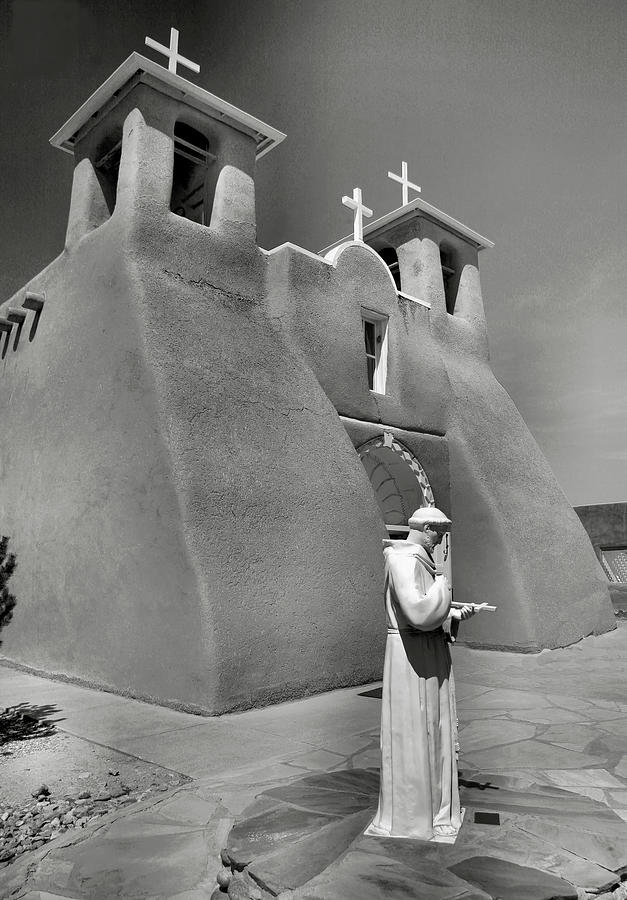 Church Photograph - Saint Francis And San Francisco De Asis Church I by Steven Ainsworth