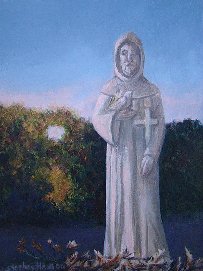 Landscape Painting - Saint Franics Landscape by Stephen  Hanson