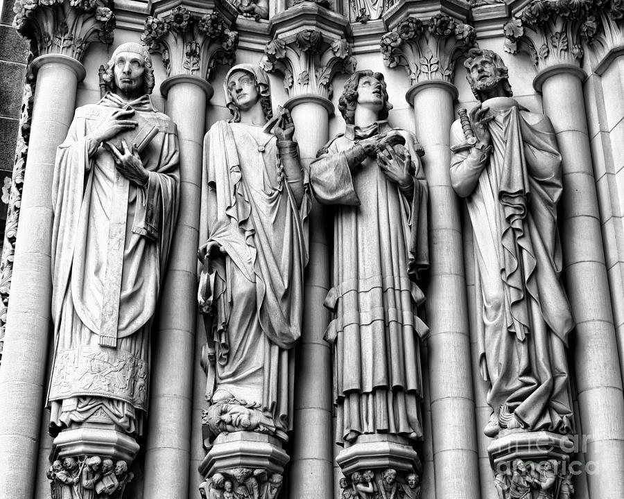 Harlem Photograph - Saint John The Divine by Anne Raczkowski