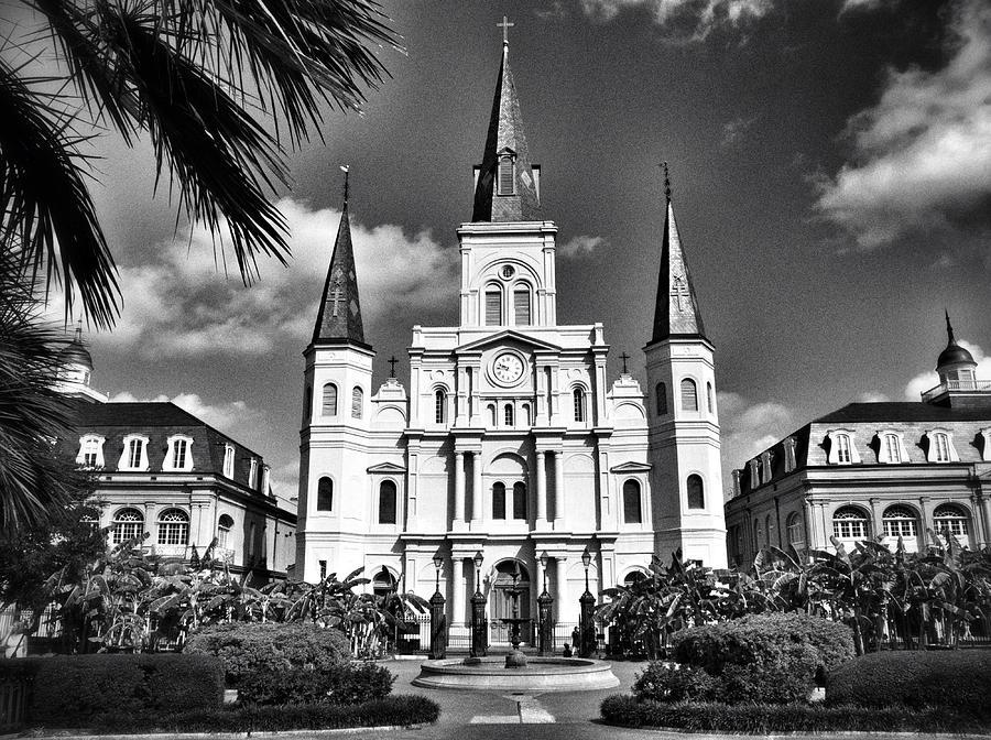 Saint Louis Photograph - Saint Louis Cathedral by Scott Crump