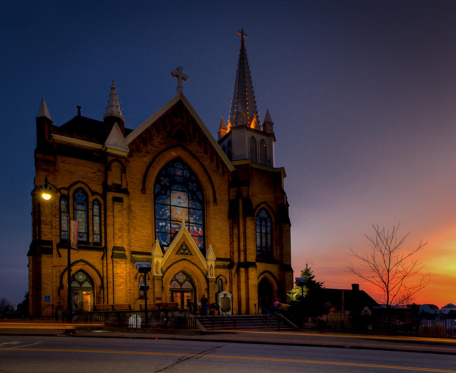 Grandview Ave. Photograph - Saint Mary Of The Mount II by David Hahn