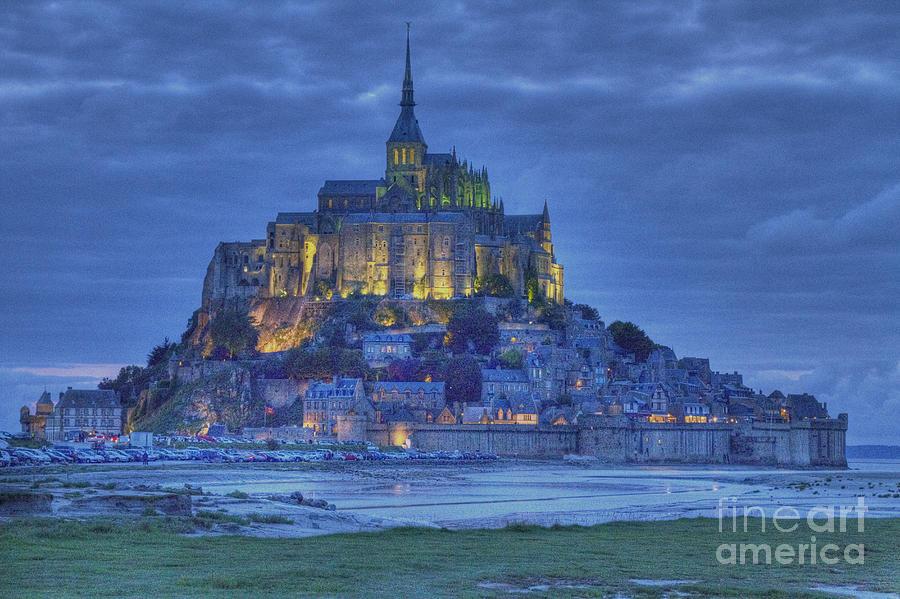 Mont Saint Michel Photograph - Saint Michaels Mount  by Heiko Koehrer-Wagner