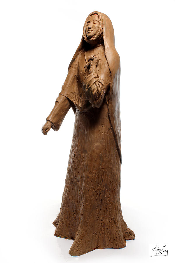 Saint Sculpture - Saint Rose Philippine Duchesne Sculpture by Adam Long