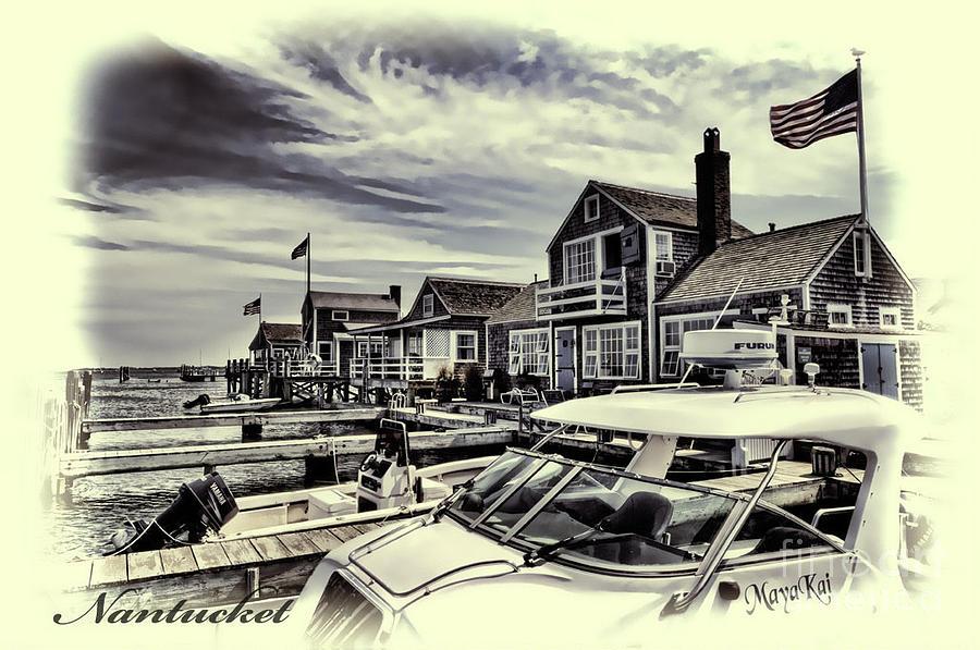 Nantucket Photograph - Salem Street - Nantucket Harbor by Jack Torcello