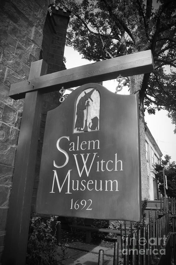 Salem Massachusetts Photograph - Salem Witch Museum by Brittany Horton