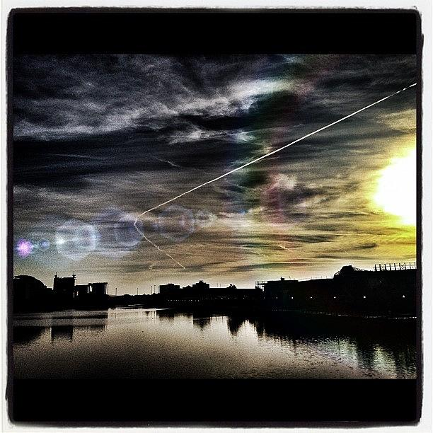 Salford Quays Photograph by Mark Robertson