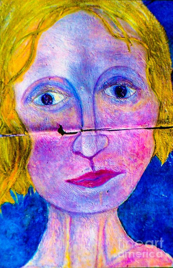 Sally Mixed Media by Bill Davis
