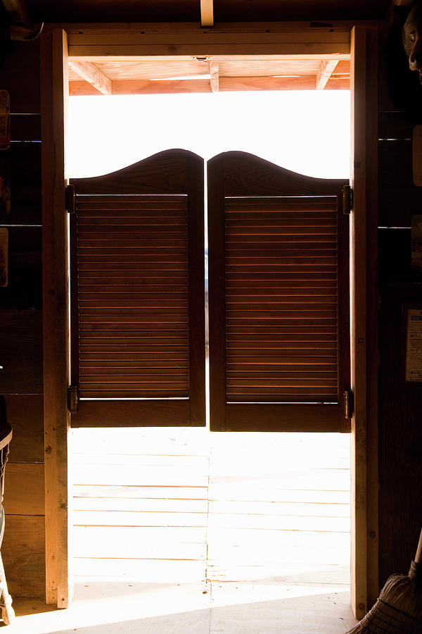 Saloon Doors Photograph By Adam Burn