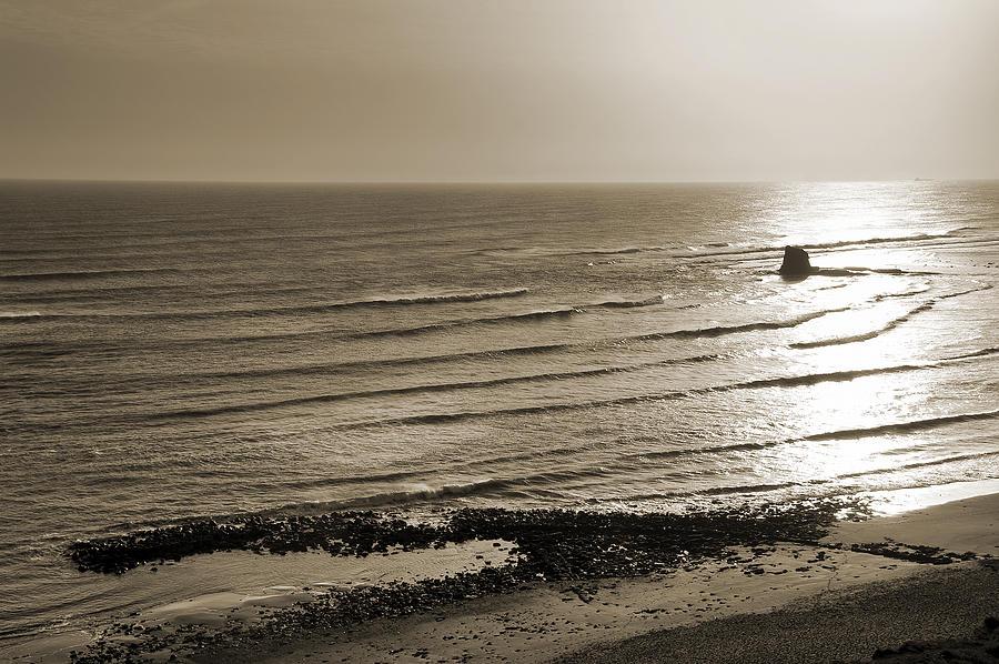 Bay Photograph - Saltwick Bay by Svetlana Sewell