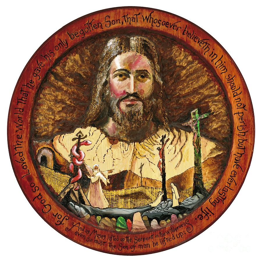 Salvation Pyrography - Salvation by Peter Olsen