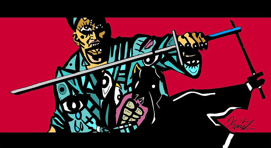 Sword Digital Art - Samani by Kamoni Khem