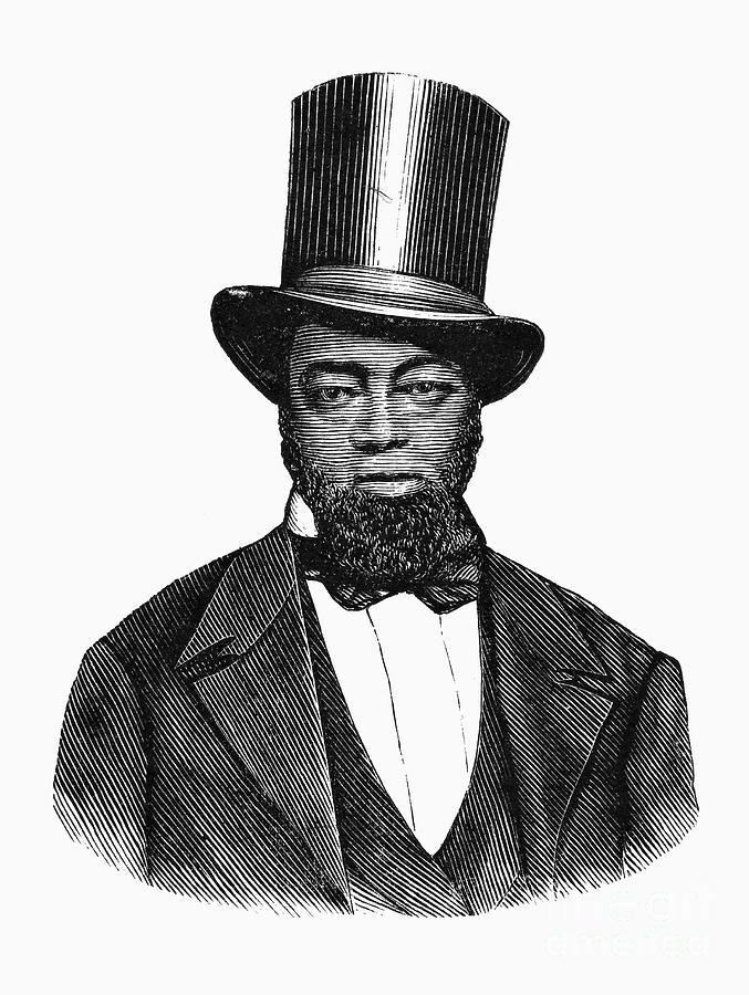 19th Century Photograph - Samuel D. Burris by Granger