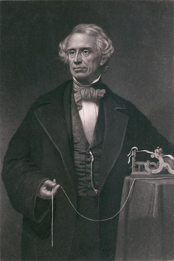 History Photograph - Samuel F. B. Morse 1791-1872, Inventor by Everett