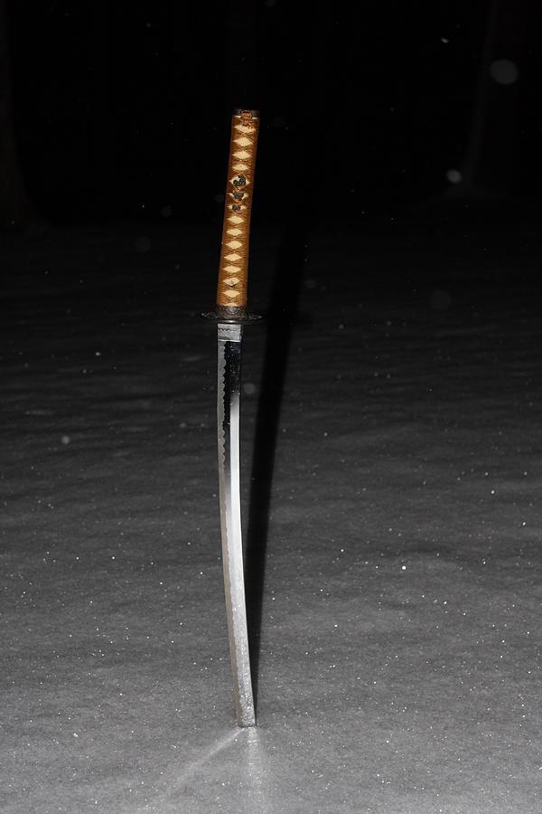 Sword Photograph - Samurai by James Collier