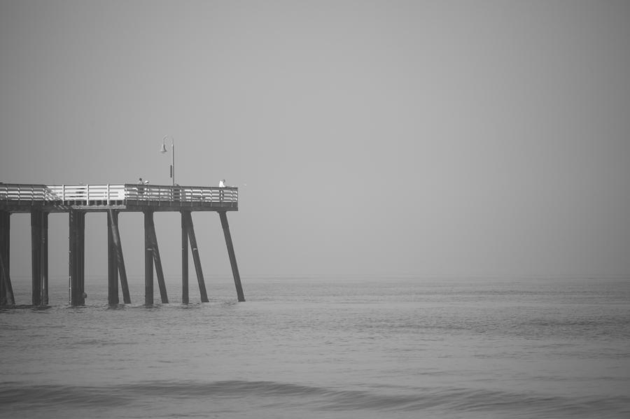 San Clemente Photograph - San Clemente Pier by Ralf Kaiser